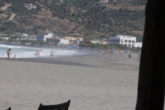 Alianthos Beach Hotel: Het prachtige strand van Plakias