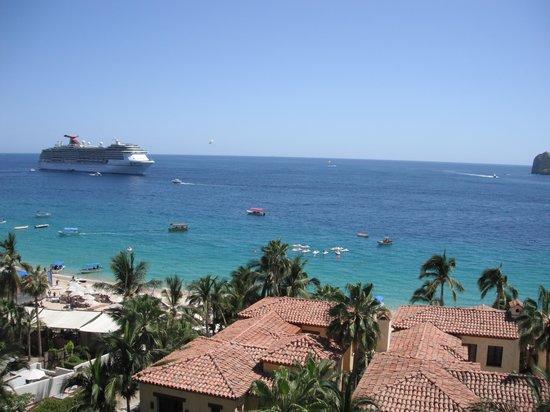 Hacienda Beach Club & Residences : Terrace view
