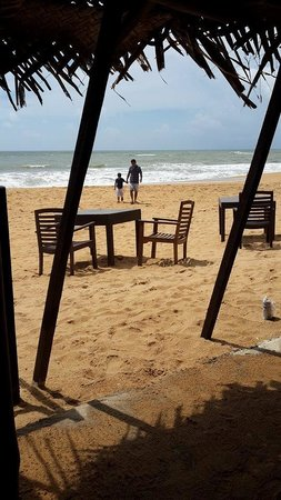 Mount Lavinia Beach: at the beach of mt lavinia hotel
