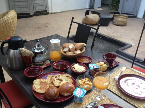 Riad O2: Breakfast