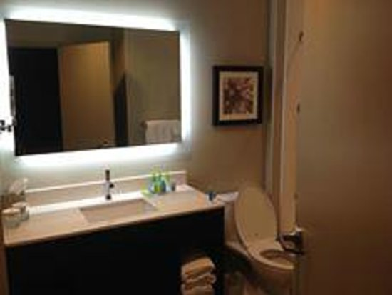 The Hollis Halifax - a DoubleTree Suites by Hilton : Clean and Spacious Bathroom