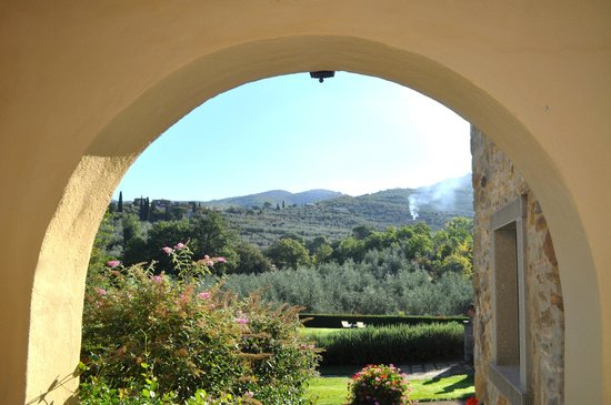 Casa Portagioia: The Tuscan countryside surrounding Cas Portagioia.