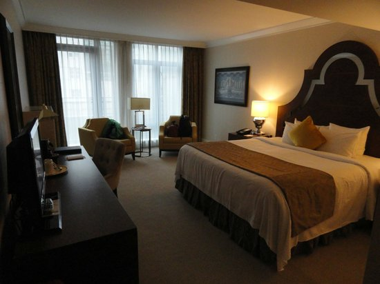 L'Hermitage Hotel: Nice and roomy