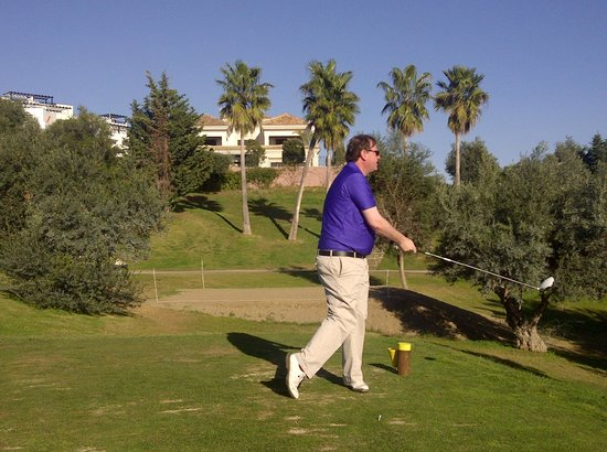 Golf Club Santa Clara Marbella: 9thTee