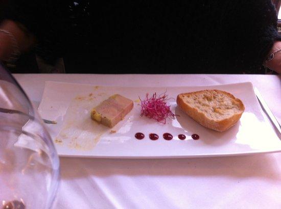 Chez Auguste : Foie gras