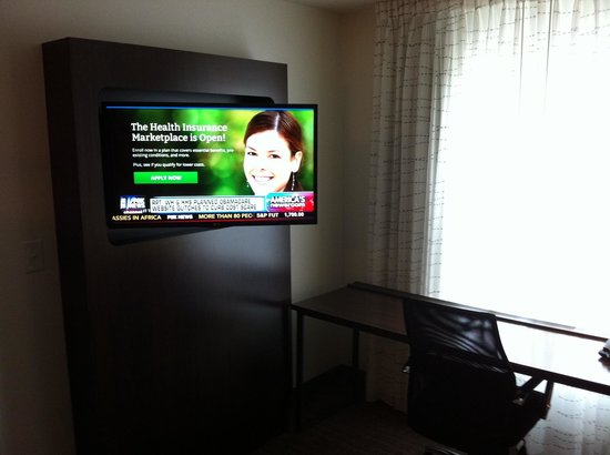 Residence Inn Albany Washington Avenue : Living room area