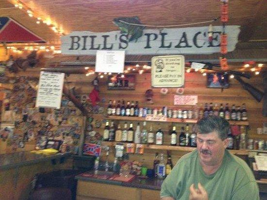 Inside Bill's Place