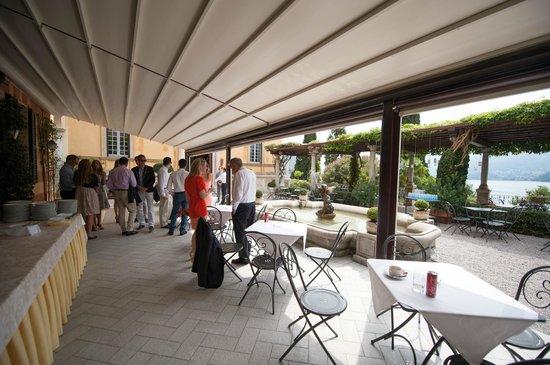 Hotel Villa Cipressi: Where we had the wedding apero - also breathtaking view!