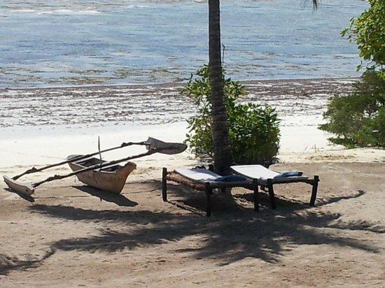 Kichanga Lodge : plage