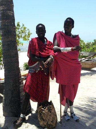 Kichanga Lodge : masaï