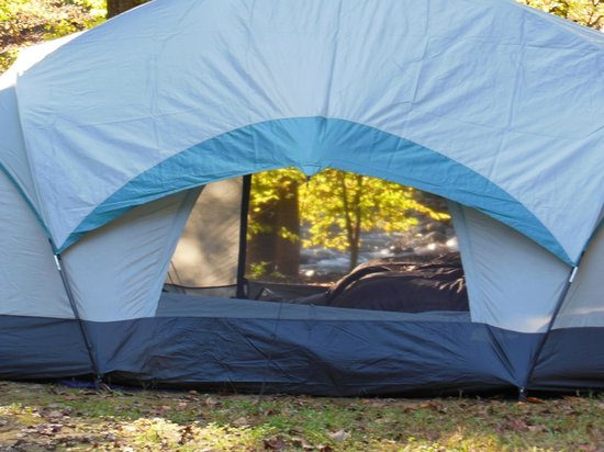 Greenbrier Campground: Thru the looking glass