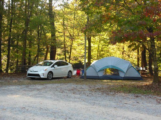 Greenbrier Campground: Our little oasis