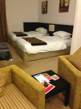 Ramada Hotel and Suites Ajman: Мой номер