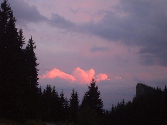 Villa Elitza: редкое явление,закат солнца