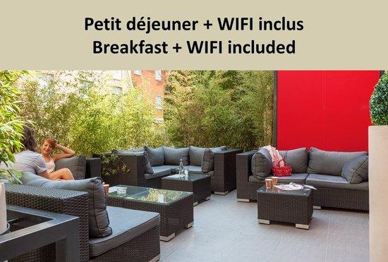 Ibis Styles Beaulieu-sur-Mer : Terrasse de l'hôtel