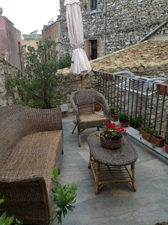 Pietre Antiche Appartamenti: Nossa deliciosa varanda/sacada