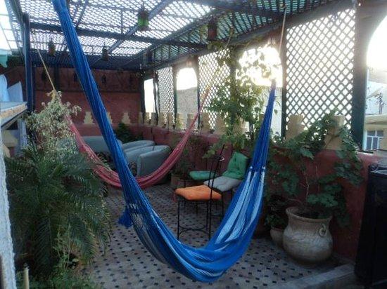 Riad Verus: terrace