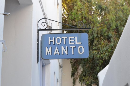 Manto Hotel: Hotel Manto