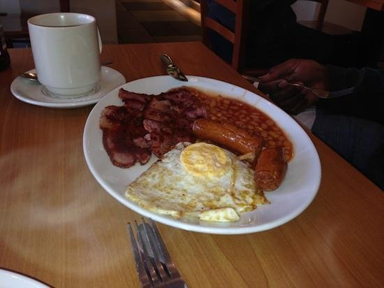 Baba's Cafe & Bar: The English Breakfast!