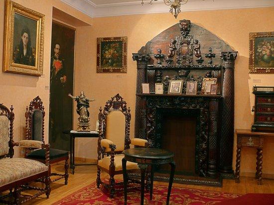 Emilia Pardo Bazan House Museum : Sala II. O salón de recibir