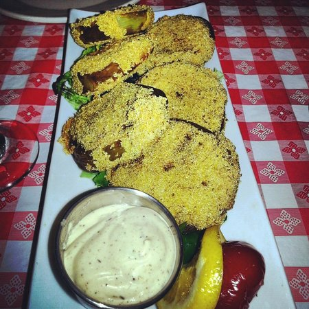 Buffaloberry Bed and Breakfast : We found Fried Green tomatoes in Banff !