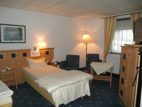 Hotel zum Loewen: Chambre double