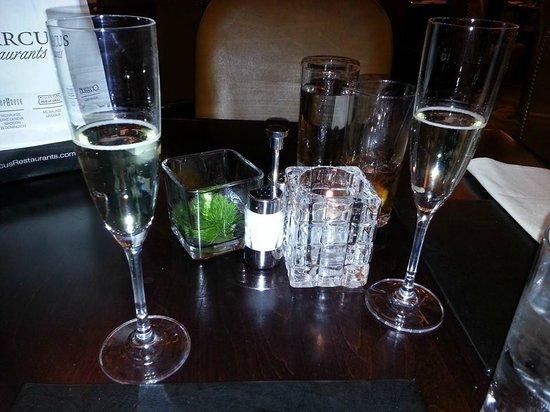 Mason Street Grill : Champagne