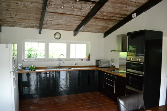Marigot Palms Luxury Caribbean Guesthouse and Apartments: Kitchen