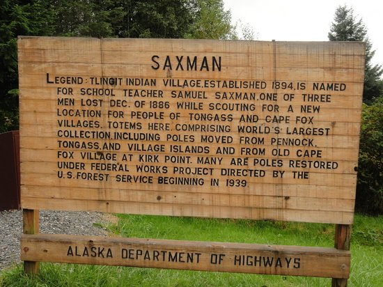 Saxman Native Village: Saxman