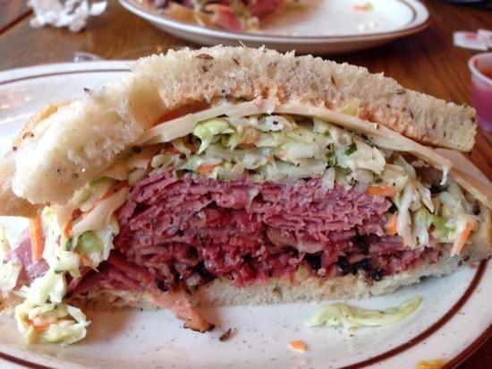 Sam LaGrassa's: corned beef & pastrami combo