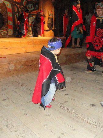 Saxman Native Village: Youth participation in the dance