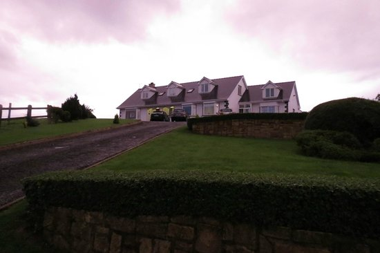 Ardlenagh View: The property high on ahill overlooking the valley