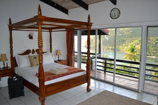 Marigot Palms Luxury Caribbean Guesthouse and Apartments: Bedroom