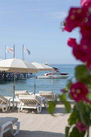 Mercure Cannes Croisette Beach: Private Beach