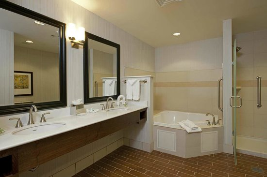 Hilton Garden Inn Indianapolis Downtown: Suite bathroom