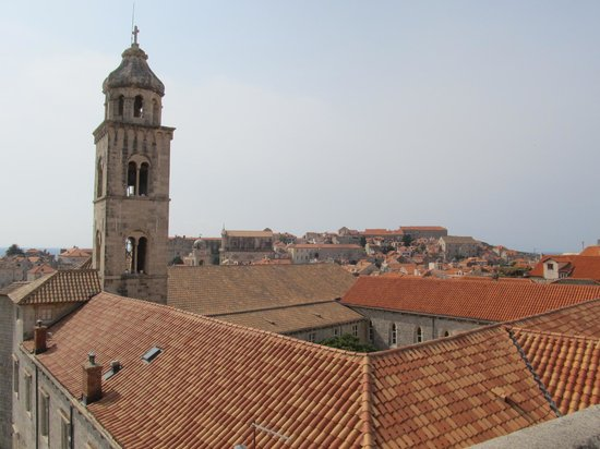 Dominican Monastery: Bell tower and complex roof