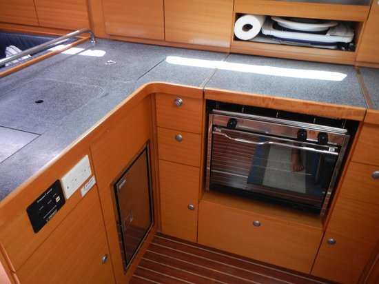 Lightheart Sailing: Galley