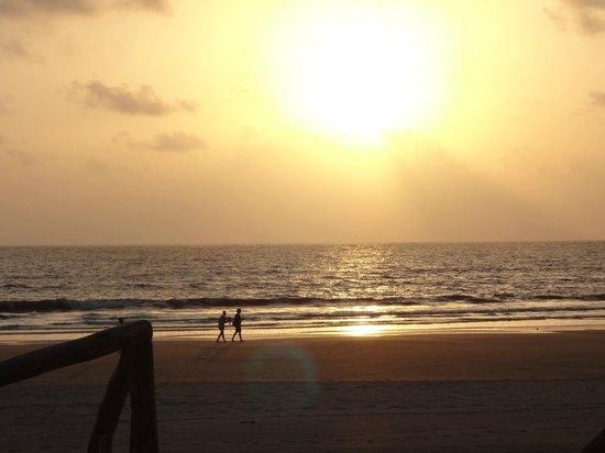 Utorda Beach: beautiful sunset