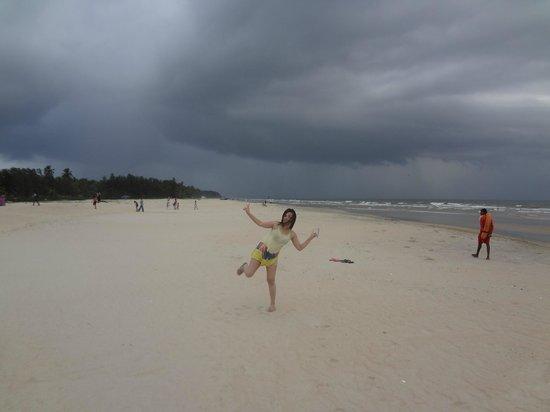 Utorda Beach: the stretch of the beach