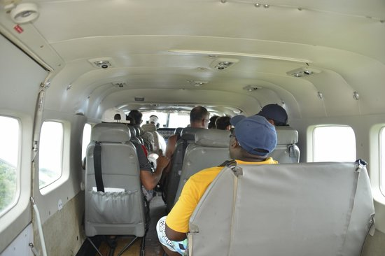 Awarradam Jungle Lodge: In flight on our way to Kayana Airstrip