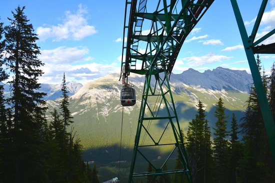 Buffaloberry Bed and Breakfast : The Banff Gondola