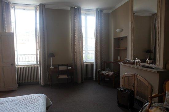 Le Couvent : Grosszügige Zimmer