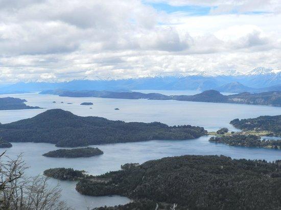 Cerro Lopez: Vista parcial en el ascenso al Refugio del cerro López