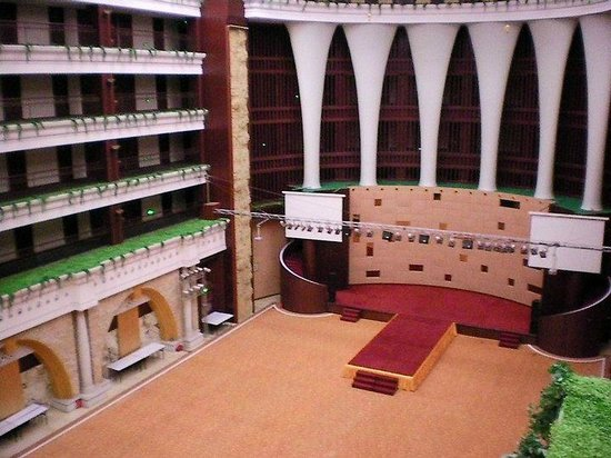 HJ Grand Hotel: il teatro all'interno dell'hotel