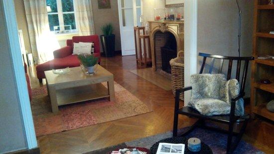 Chateau Bordeneo : La salle commune de repos, de lecture, de TV