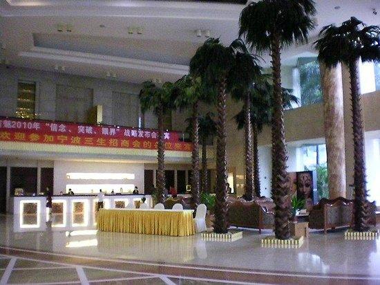 HJ Grand Hotel : la hall