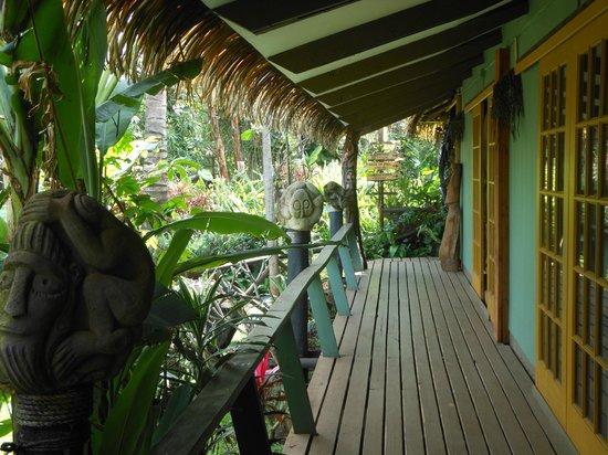 Hotel Manavai : A entrada