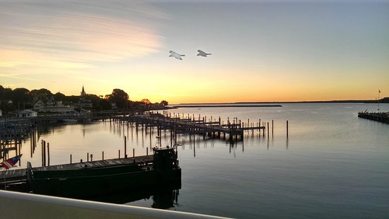 Chippewa Hotel Waterfront : Awesome sunrise at the Chippewa right off the balcony