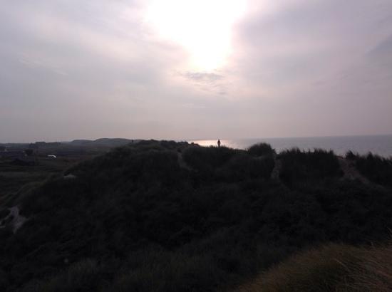 Danland Ferienpark Blokhus: Her er en fantastisk solnedgang over havet