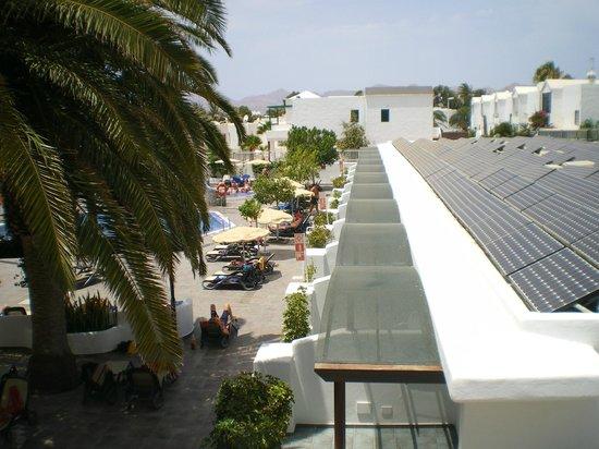 Relaxia Lanzaplaya: Vista desde la terraza